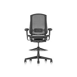 塞勒高脚椅 杰罗姆·卡鲁索  herman miller家具品牌