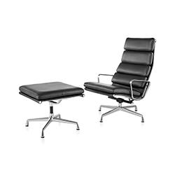 伊姆斯软包躺椅 伊姆斯夫妇  herman miller家具品牌