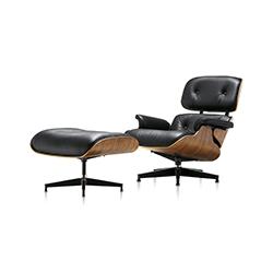伊姆斯躺椅&脚踏 伊姆斯夫妇  herman miller家具品牌