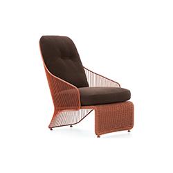 科莱特扶手椅 鲁道夫·多多尼  户外椅