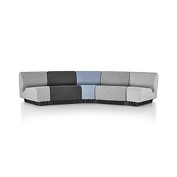 查德威克模块化公共区域沙发 比尔·施通普夫  herman miller家具品牌