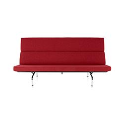 伊姆斯紧凑型沙发 伊姆斯夫妇  herman miller家具品牌