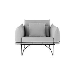 线框沙发 萨姆·赫奇  herman miller家具品牌