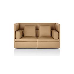 模块沙发 BassamFellows  herman miller家具品牌