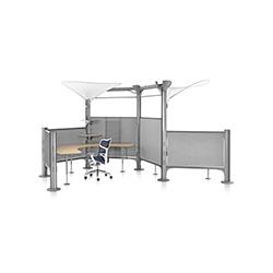 Resolve系统开放式办公区 艾莎·贝赛尔  办公屏风