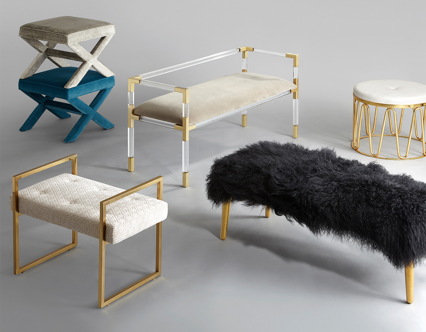 创意家具 - 卧室|床尾凳|办公家具|设计师家具|雅克床尾凳