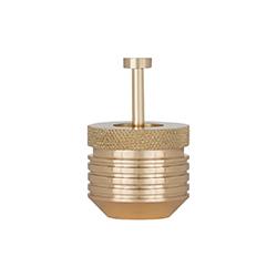 齿轮黄铜小笔筒   办公辅件
