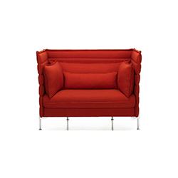 alcove 中背扶手椅 波鲁列克兄弟  vitra家具品牌