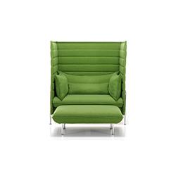 alcove 高背沙发 波鲁列克兄弟  vitra家具品牌