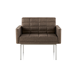 燕尾服休闲座椅 BassamFellows  herman miller家具品牌