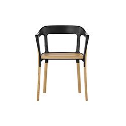 钢木餐椅 波鲁列克兄弟  magis家具品牌
