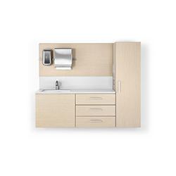莫拉医疗洗手台系统 柯林·纽瑞  herman miller家具品牌