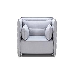 alcove 矮背扶手椅 波鲁列克兄弟  vitra家具品牌