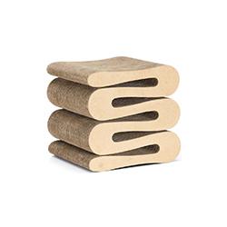 Wiggle 矮凳 弗兰克·盖里  vitra家具品牌