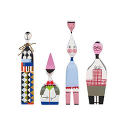 木娃娃 No.5-8 亚历山大·吉拉德  vitra家具品牌