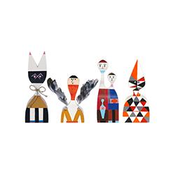 木娃娃 No.9-12 亚历山大·吉拉德  vitra家具品牌