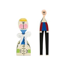 木娃娃 No.21-22 亚历山大·吉拉德  vitra家具品牌