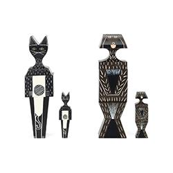 木娃娃 狗/猫 亚历山大·吉拉德  vitra家具品牌