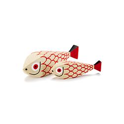 木娃娃母鱼 & 孩子 亚历山大·吉拉德  vitra家具品牌