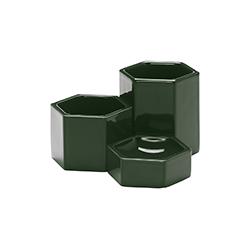 六角形容器   花器