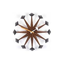 挂钟 - 多边形时钟 乔治·尼尔森  vitra家具品牌