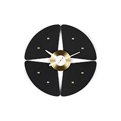 挂钟-花瓣钟 乔治·尼尔森  vitra家具品牌