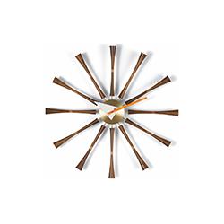 挂钟-主轴钟 乔治·尼尔森  vitra家具品牌