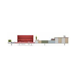 Level 34 多功能台柜组合 沃纳·桑斯汀格  vitra家具品牌