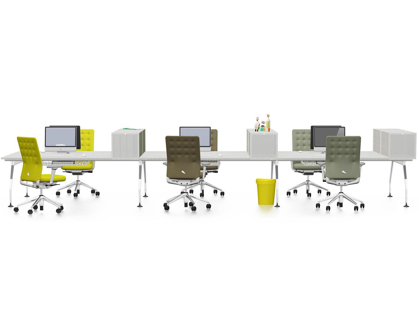 [办公屏风|办公屏风系统|办公家具|设计师家具|Ad Hoc 桌面组合办公台]