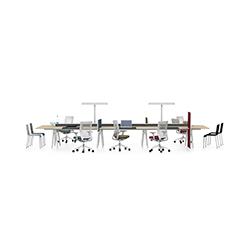 Joyn 桌面组合办公台 波鲁列克兄弟  vitra家具品牌