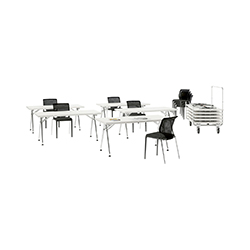 Click 折叠会议条桌 阿尔伯特·梅达  vitra家具品牌
