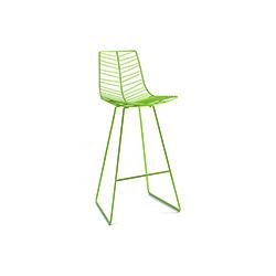 Leaf 金属户外吧椅 lievore altherr molina 工作室  吧椅/凳子