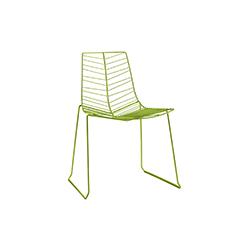 Leaf 金属户外餐椅 lievore altherr molina 工作室  户外椅