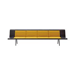 Zinta 公共空间沙发 lievore altherr molina 工作室  公共座椅