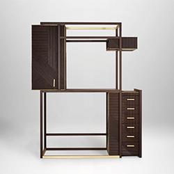 汉普顿装饰柜/书柜 机库设计组  装饰架