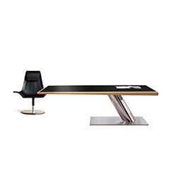 皮革行政办公桌 Leather administrative desk