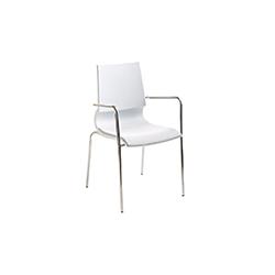 Ricciolina 洽谈椅/办公椅 马科·马兰  休闲椅
