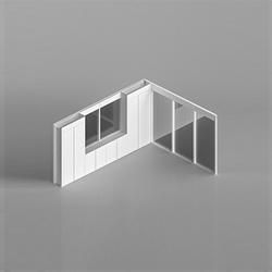 I-Wallspace 高隔断/高隔墙系统   办公屏风