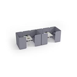 Hug Modular Pods 工作卡位   办公屏风