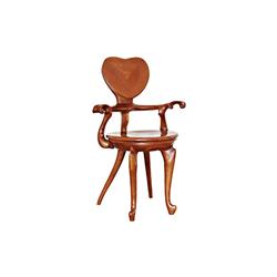 Calvet bench 实木椅子/实木沙发 安东尼·高迪  休闲椅