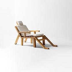 PORTLLIGAT带扶手躺椅   躺椅