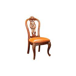 木背餐椅   餐椅
