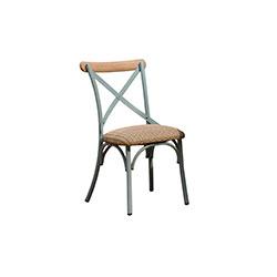 交叉背餐椅   餐椅