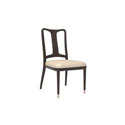 上雅-木背餐椅 高伟  餐椅