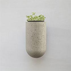 挂墙式花钵-杯   花器