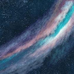 银河-原创定制壁画   装饰画/墙饰