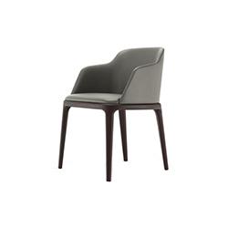 格蕾斯扶手椅 艾缪尔・加利那  Poliform
