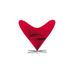 心型椅 维纳尔·潘顿  vitra家具品牌