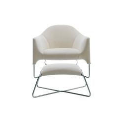 巴厘岛扶手椅&脚凳 卡罗・哥伦布  休闲椅