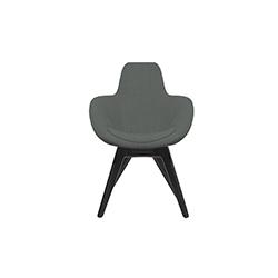 勺型高背椅   休闲椅